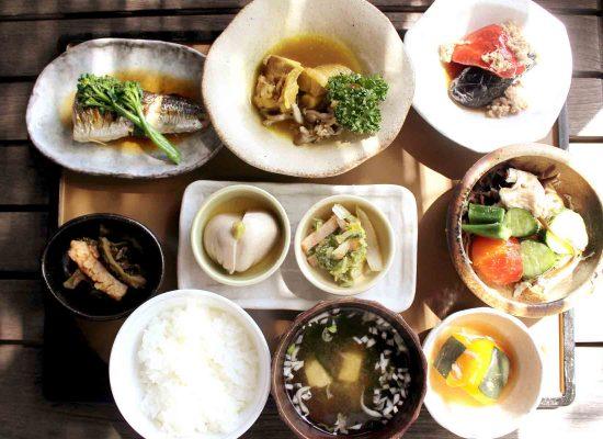 健康的な食事の例